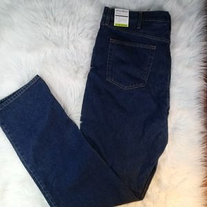 NWT Eddie Bauer Mens 40/38 Traditional Fit Jeans